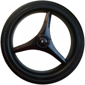 """Колесо для коляски 12"""" Bebetto №40 (низкопрофильное, вспененная резина)"""